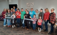 Ribbon Cutting for Personali-Tees