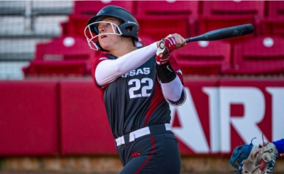 No. 25 Razorbacks Sweep Sunday Doubleheader Against No. 18 Baylor And McNeese