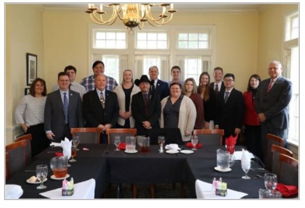 CASC STUDENTS VISIT WITH LEGISLATORS, ATTEND HIGHER ED DAY