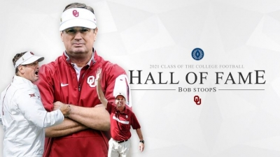STOOPS NAMED TO COLLEGE FOOTBALL HALL OF FAME
