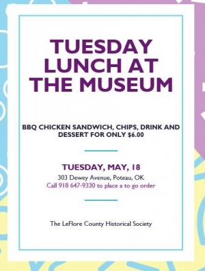 May Tuesday Lunch at the Museum