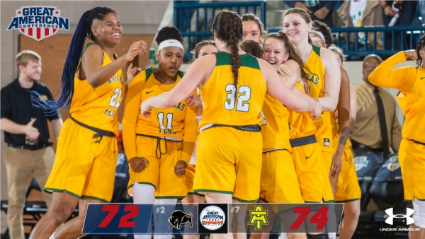 GOLDEN SUNS UPSET SECOND-SEEDED HARDING AT #theGAC CHAMPIONSHIPS