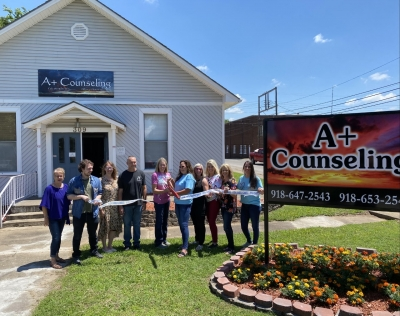 A + Counseling Service joins Poteau Chamber of Commerce