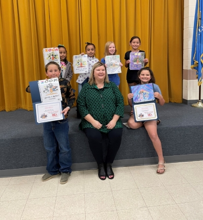 Fanshawe students participate in OEA's 2021 Read Across America Poster Contest.