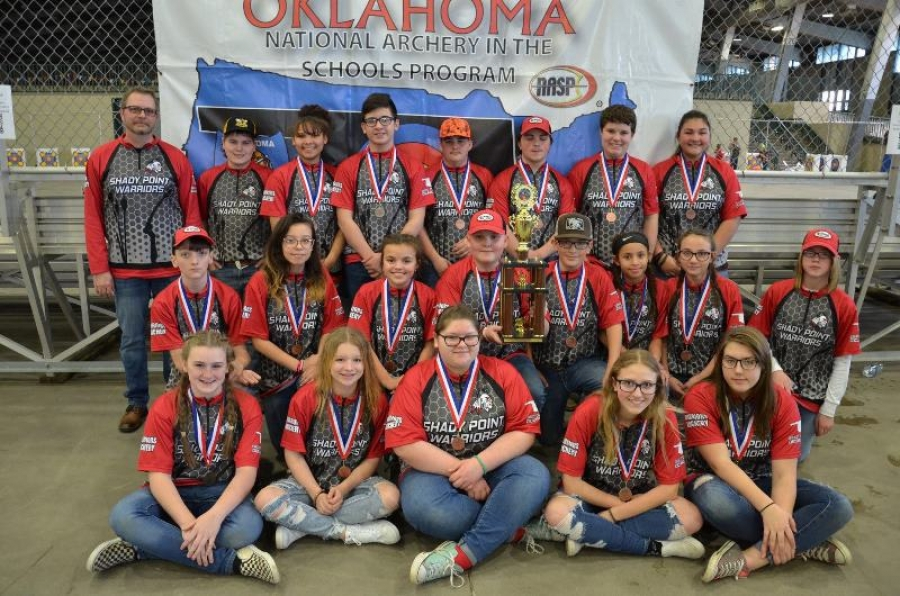 Shady Point Archery Takes 3rd at State and Earns Second Consecutive Trip to Nationals