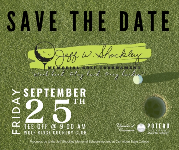 Jeff Shockley Memorial Golf Tournament Scheduled for September 25th