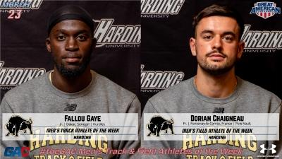 theGAC TRACK & FIELD ATHLETES OF THE WEEK (MARCH 23)