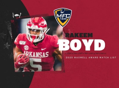 Boyd Named To Maxwell Award Watch List