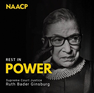 NAACP Mourns The Passing of Justice Ruth Bader Ginsburg