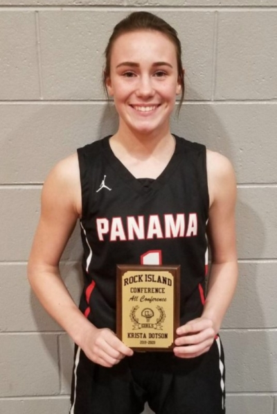 Panama Freshman makes Rock Island All Conference Team