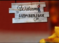 The Lumberjack Café in Howe Oklahoma is a great place to eat