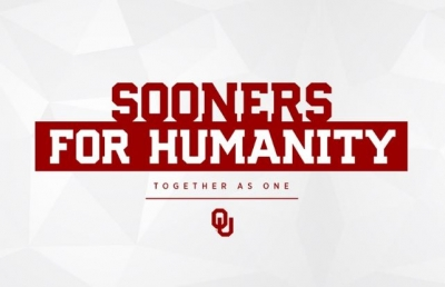 OU ANNOUNCES SOONERS FOR HUMANITY INITIATIVE