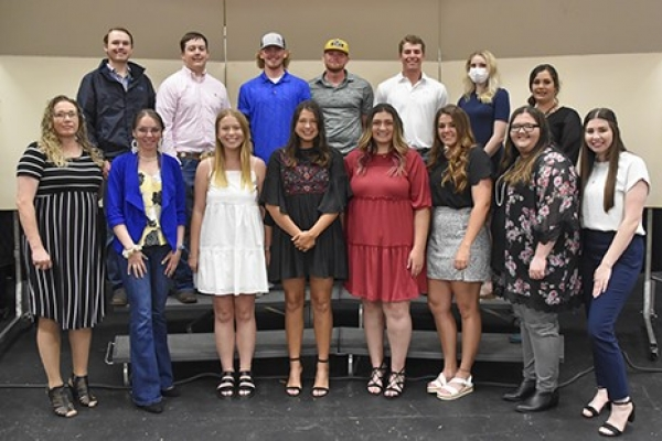 Eastern students inducted into the academic honor society Phi Theta Kappa during spring 2021 semester ceremony