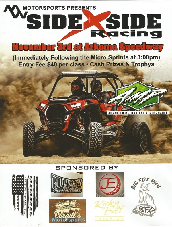 MW MOTORSPORTS PRESENTS SIDE X SIDE RACING