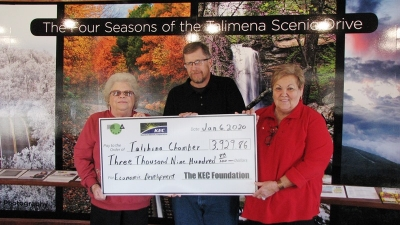 Talihina Chamber of Commerce Receives Grant