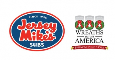 Jersey Mike's Subs Makes $300,000 Challenge Grant to Wreaths Across America