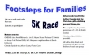 Second Annual Footsteps for Families 5K Race & Fun Run Scheduled for May 21