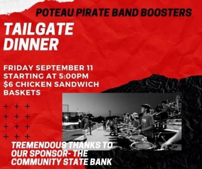 PHS Band Boosters Announce Season Opener Tailgate