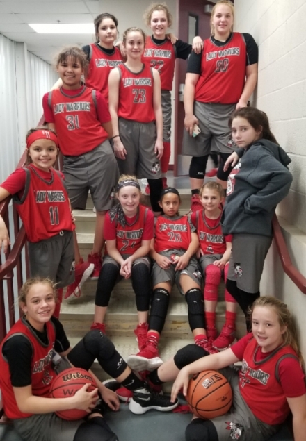 Lady Warriors win Big Time Challenge Basketball Tournament
