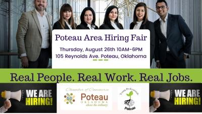 Real People, Real Work and Real Jobs at The Poteau Hiring Fair