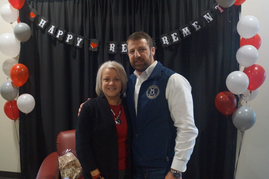 Mullin hold Surprise retirement party for Poteau Woman