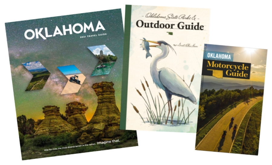 Oklahoma Tourism & Recreation DepartmentReleases Three New Travel Guides for New Year