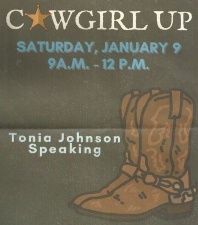 COWGIRL UP LADIES MEETING SCHEDULED