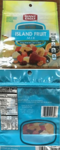 Dried Fruit Mix Recalled