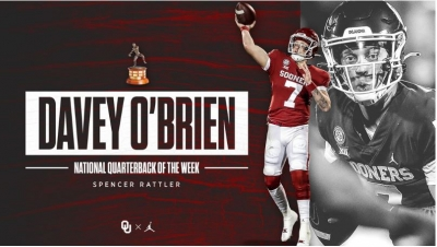 DAVEY O'BRIEN NATIONAL QUARTERBACK OF THE WEEK