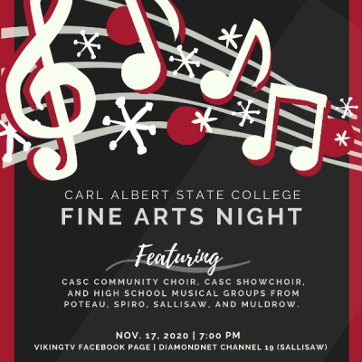 FINE ARTS NIGHT PLANNED AT CARL ALBERT STATE COLLEGE