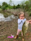 Lillian Allen, 2 1/2, recently had her first fishing outing and she is hooked! Share your photos with us on Facebook, Twitter and Instagram.