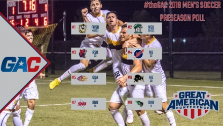 FORT HAYS STATE NAMED AS #theGAC 2019 MEN'S SOCCER FAVORITE