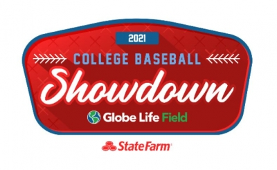 STATE FARM COLLEGE BASEBALL SHOWDOWN TO TAKE PLACE AT GLOBE LIFE PARK, FEBRUARY 19-21, 2021