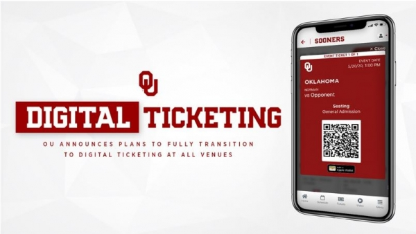 OU Athletics Announces Digital Ticketing