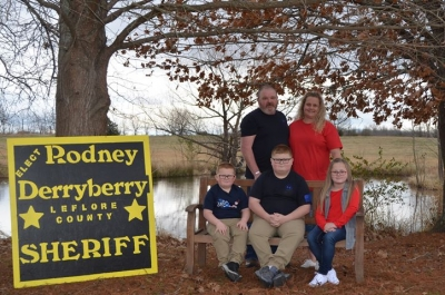 Rodney Derryberry Announces Candidacy for Sheriff