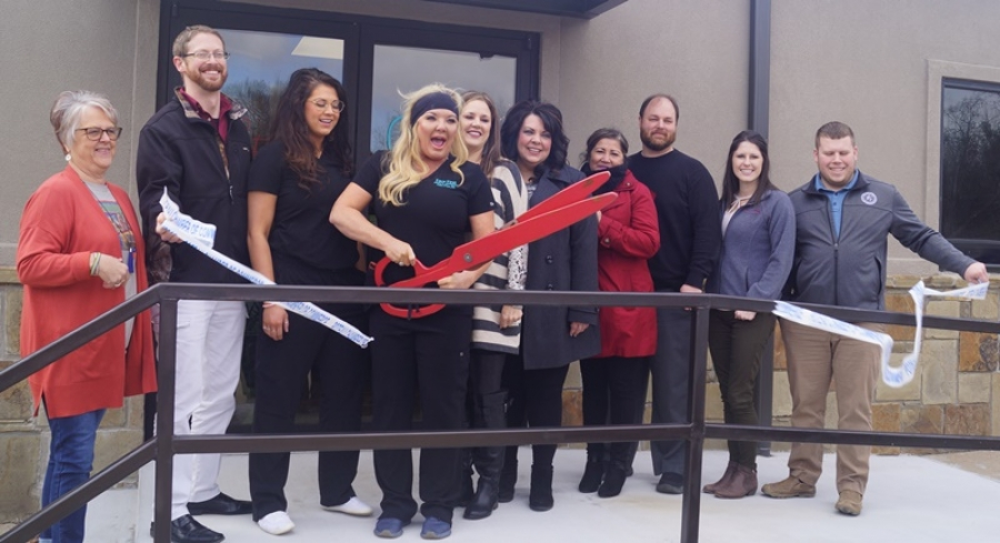The Poteau Chamber of Commerce welcomes Face First Medical Aesthetics as new member