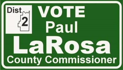 LaRosa announce candidacy for County Commissioner