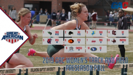 OKLAHOMA BAPTIST VOTED WOMEN'S TRACK AND FIELD FAVORITE