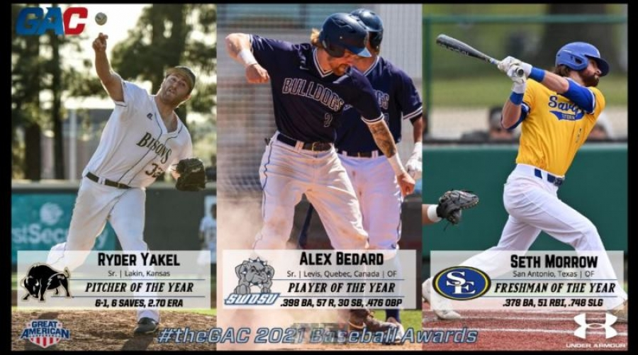 theGAC ANNOUNCES 2021 BASEBALL ALL-CONFERENCE AWARDS