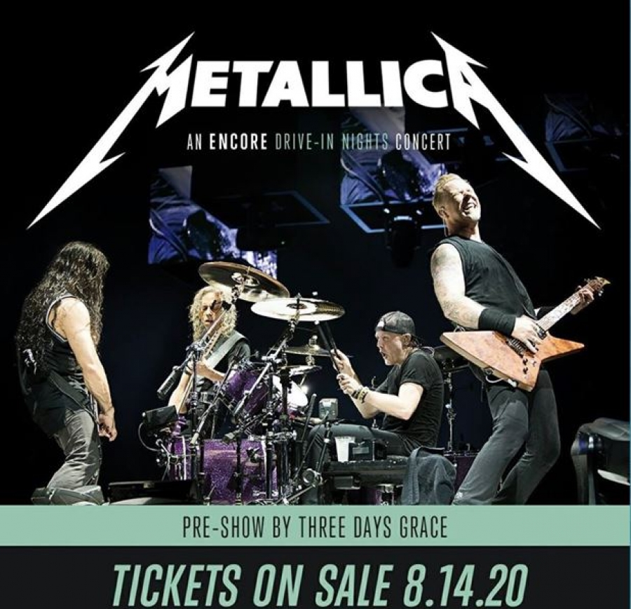 Tower Drive-In to Host Metallica Concert