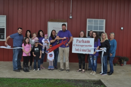 The Poteau Chamber of Commerce welcomes Parham Chiropractic as new members