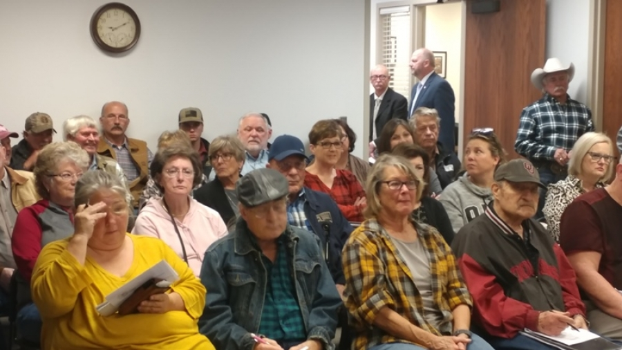 Area Residents Speak out at County Commissioners' Meeting