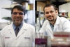 Dr. Chandan Guha, M.B.B.S., Ph.D. (left) and Dr. Ashish Ranjan, BVSc, Ph.D. (right), shown here together in this composite image, are at the heart of a new partnership between OSU and the Albert Einstein College of Medicine.  Ranjan, a professor and Kerr Foundation Endowed Chair in the Department of Physiological Sciences, leads the Nanomedicine and Targeted Therapy Laboratory at the OSU College of Veterinary Medicine. Guha is vice chair of radiation oncology and a professor of radiation oncology, pathology and urology at Albert Einstein College of Medicine.