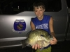 A near record bluegill was caught by 13 year-old Joshua Thomas from a private pond near Tahlequah. Weighing 2lbs 5oz, this bluegill almost beat the current record of 2lbs 6.4oz caught by Tom Shorter in 1987! Share your photos with us on Facebook, Twitter and Instagram.