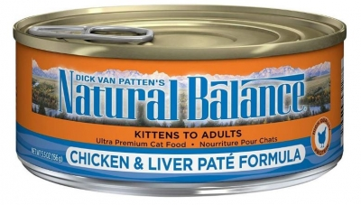 Natural Balance Canned Cat Food Recall