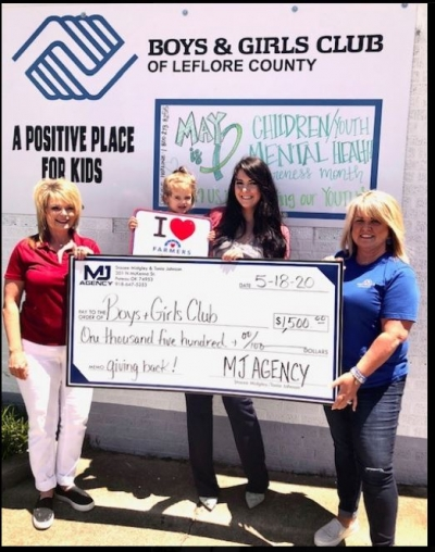 Farmers Insurance® Agents Tonia Johnson and Stacee Midgley Help Donate $1,500 to Nonprofit for COVID-19 Response Efforts