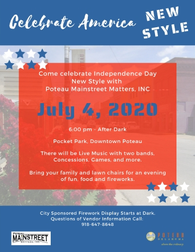 Celebrate America New Style This Year in Poteau