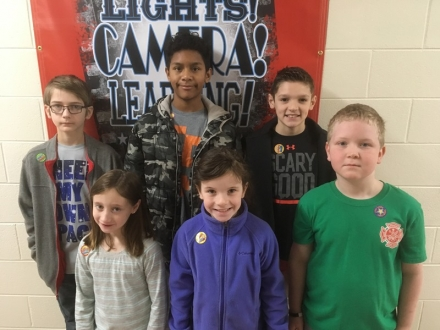 """PUES Announces """"Students of the Week"""" for Jan. 9-13"""