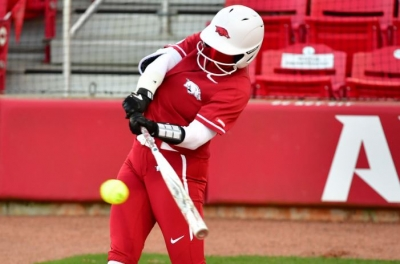 No. 17 Arkansas Remains Perfect In SEC Play Defeating Ole Miss, 5-1