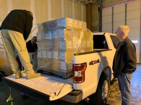 ODOC delivers additional protective gear to staff and inmates